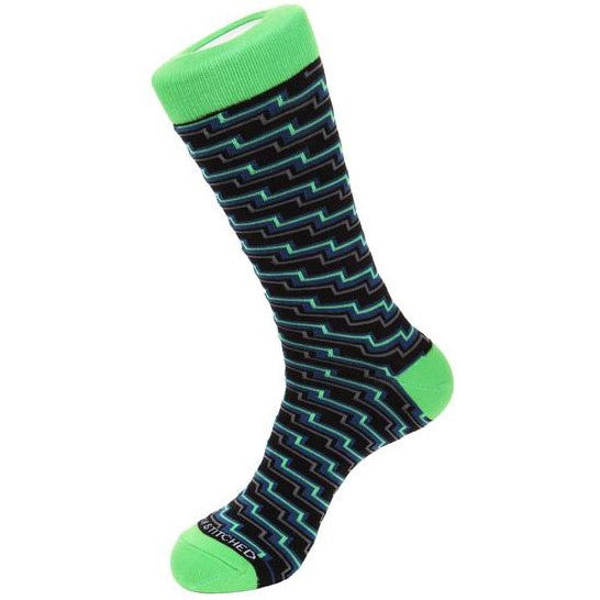 Unsimply Stitched ELECTRIC STEP SOCKS-UNST-9055-2