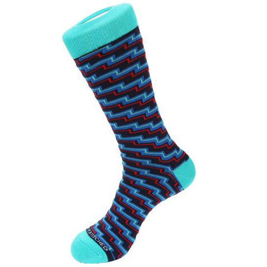 Unsimply Stitched  ELECTRIC STEP SOCKS-UNST-9055-3