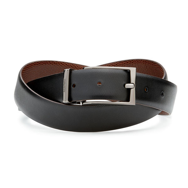 Politix Aleco Belt VB09 Dark Tan / Black