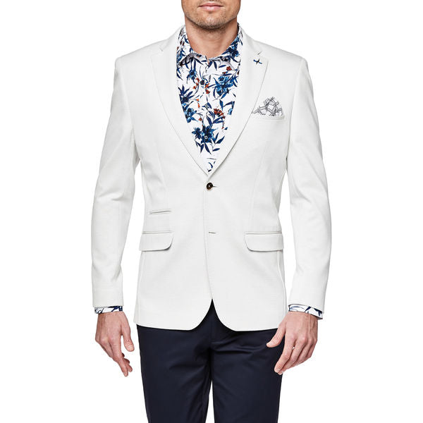 Politix Bespoke Collection Blazer VC42B White