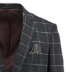 Christian Brookes Royale Navy Check Blazer W19CB190-01