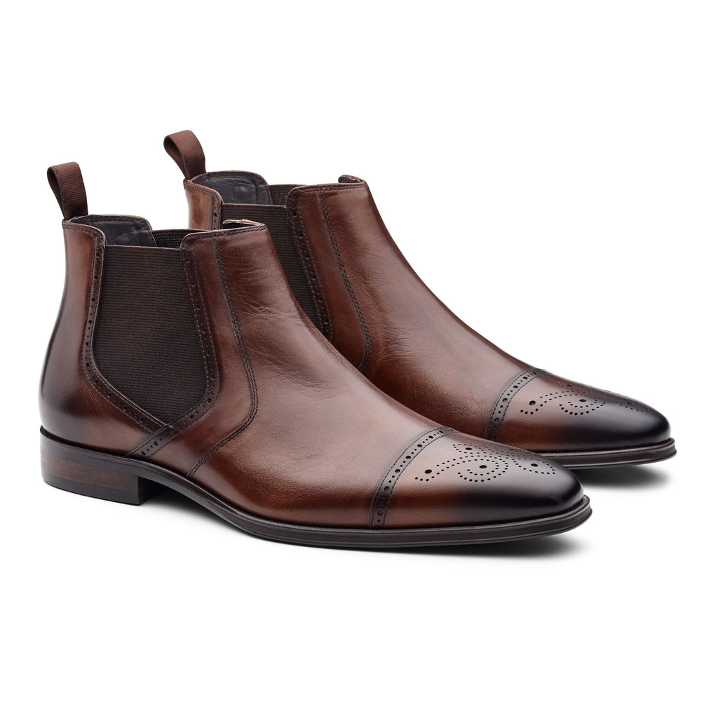 Politix Dallen Shoes WF02 Cognac