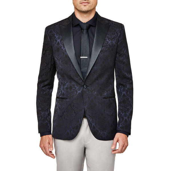 Politix Parkway Dinner Jacket WJ11B Navy