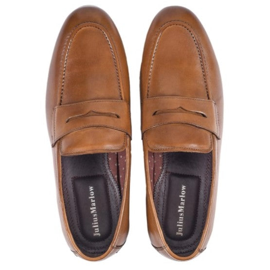 Julius Marlow Wriath Loafers Dark Tan