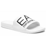 EA7 White Slippers - Ignition For Men