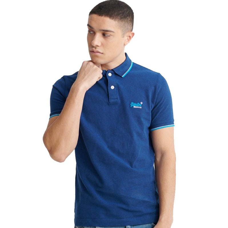 Superdry Poolside Pique Polo - Ignition For Men