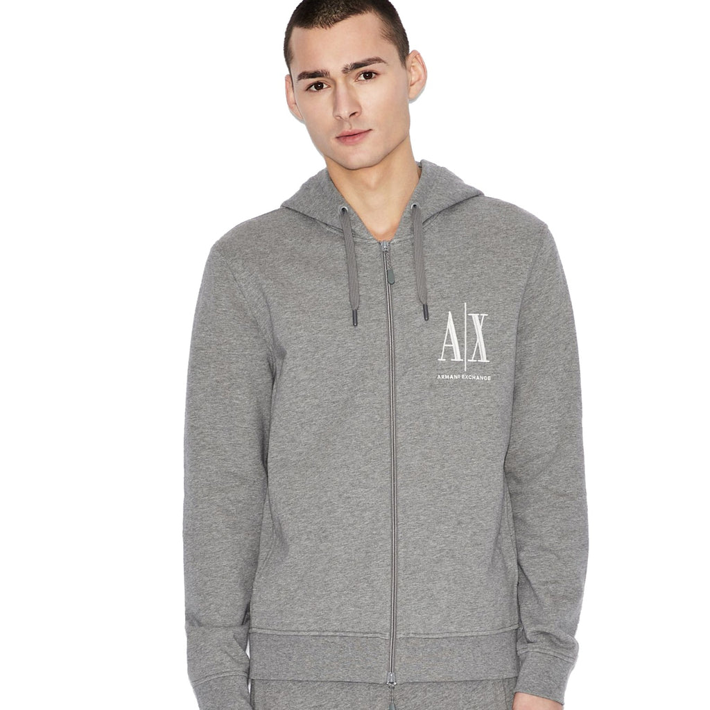 Armani Exchange Zip Up Hood - Ignition For Men