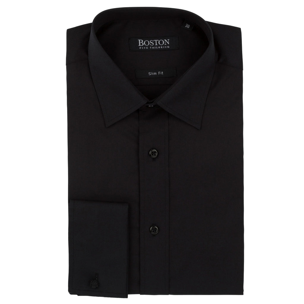 Boston Plain Black Shirt DC
