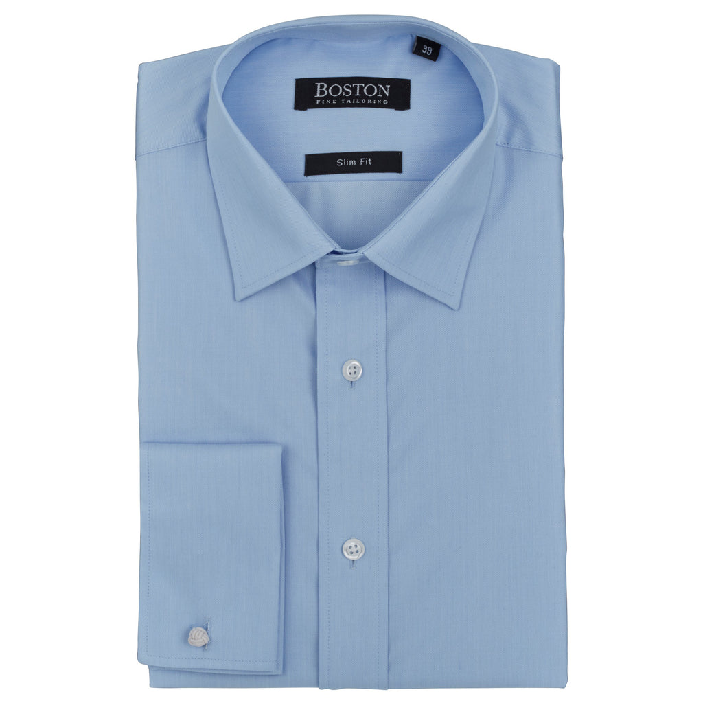Boston Plain Blue Shirt DC
