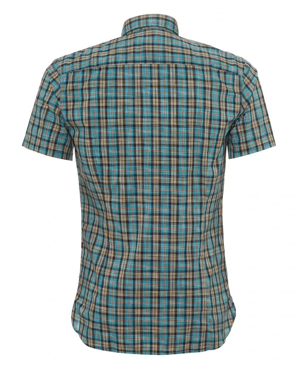 Hugo Boss Cattitude Short Sleeve Shirt - Ignition For Men