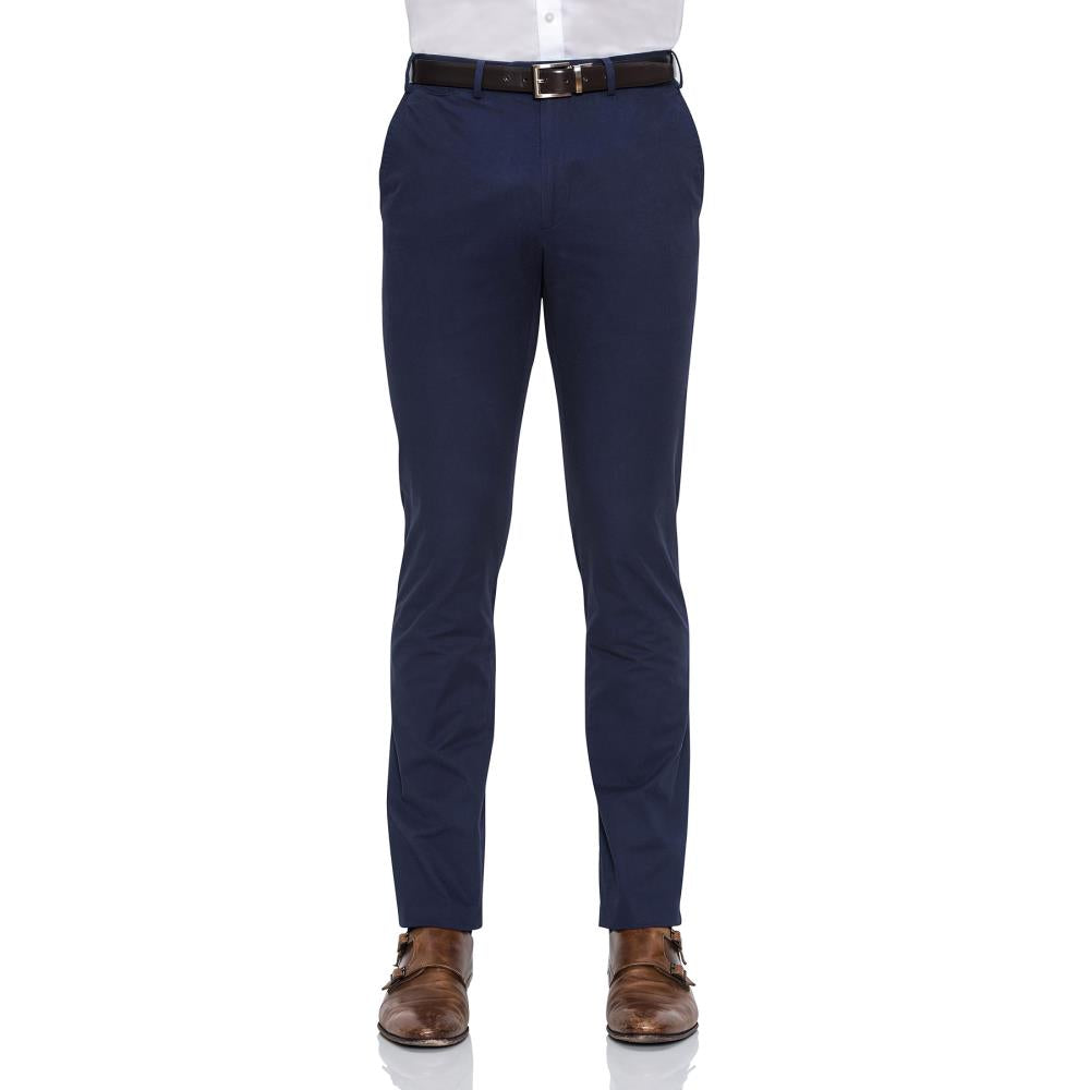 Cambridge Helm Navy Chinos - Ignition For Men