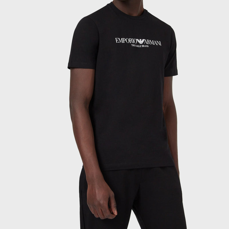 "Emporio Armani T-shirt ""The Eagle Brand"" - Ignition For Men"