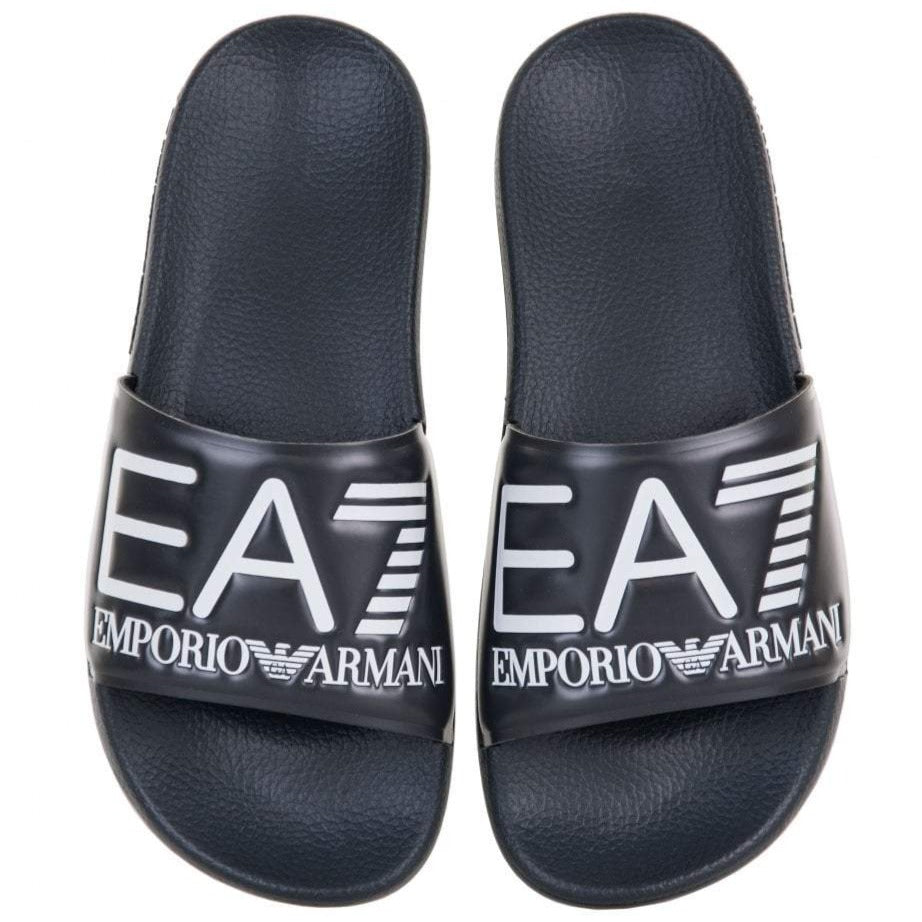 EA7 Navy Slippers - Ignition For Men