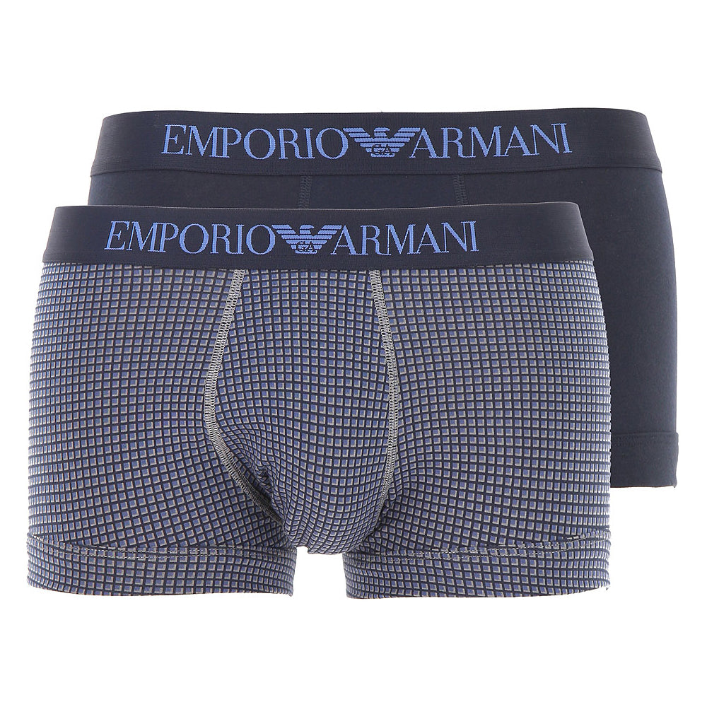 Emporio Armani 2 Pack Trunk 111210 8A504 21042 Navy