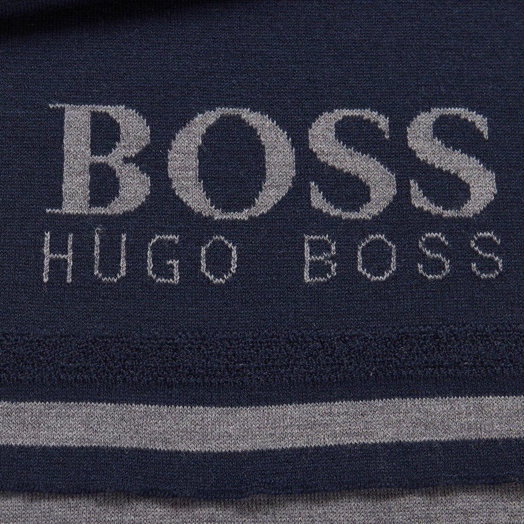 Hugo Boss Athleisure Scarf & Beanie Set - Ignition For Men
