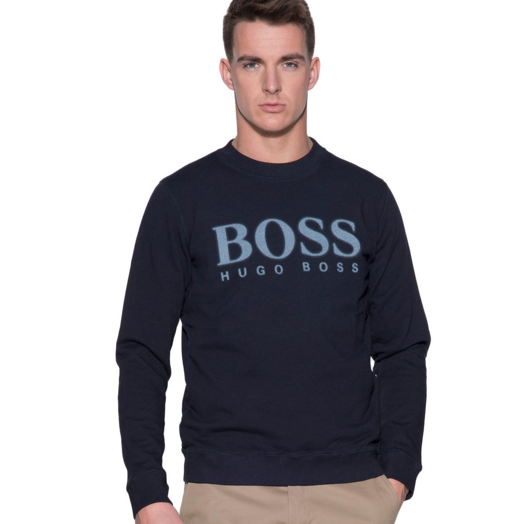 Hugo Boss Orange Walker Sweater 50382322 Dark Blue