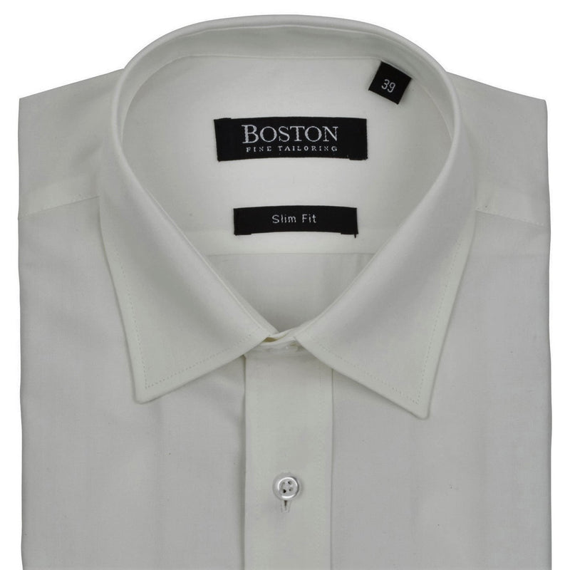 Boston Plain Ivory Shirt SC