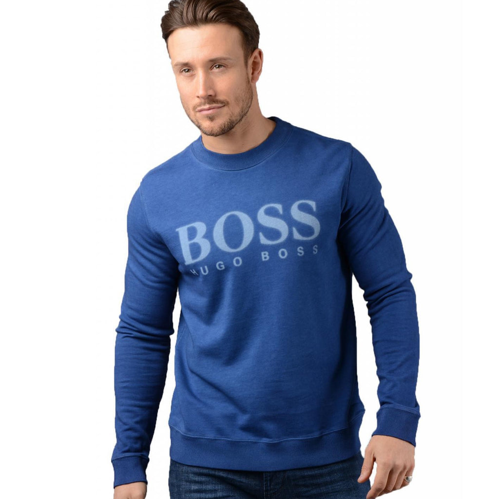 Hugo Boss Orange Walker Sweater 50382322 Bright Blue