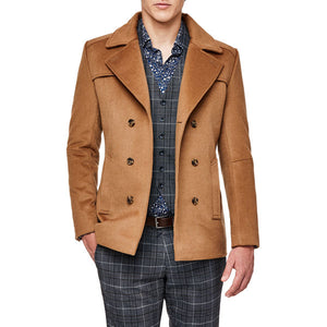 Politix Wellesley Coat WC20W Dark Tan