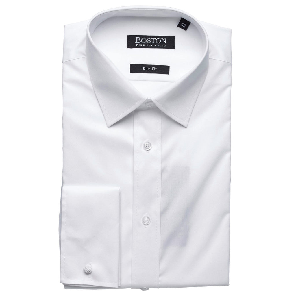 Boston Plain White Shirt DC