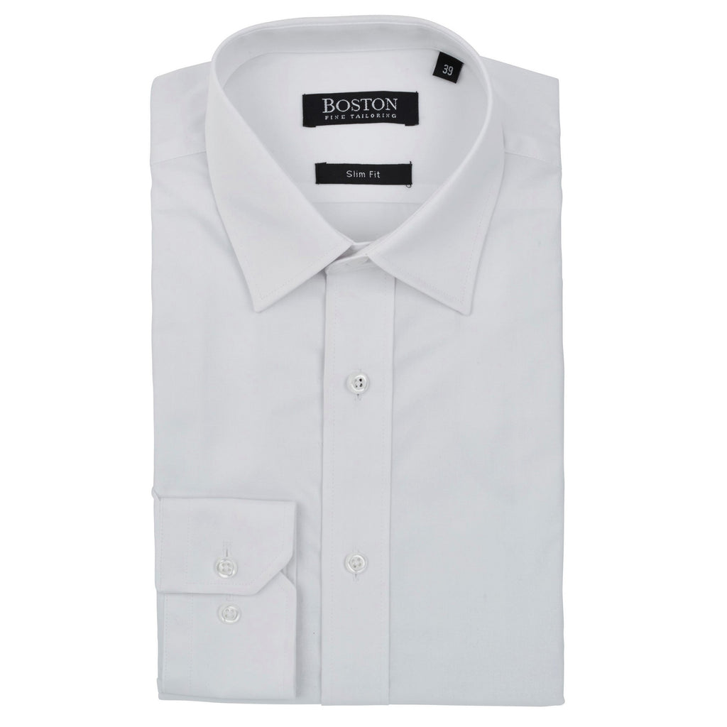 Boston Plain White Shirt SC