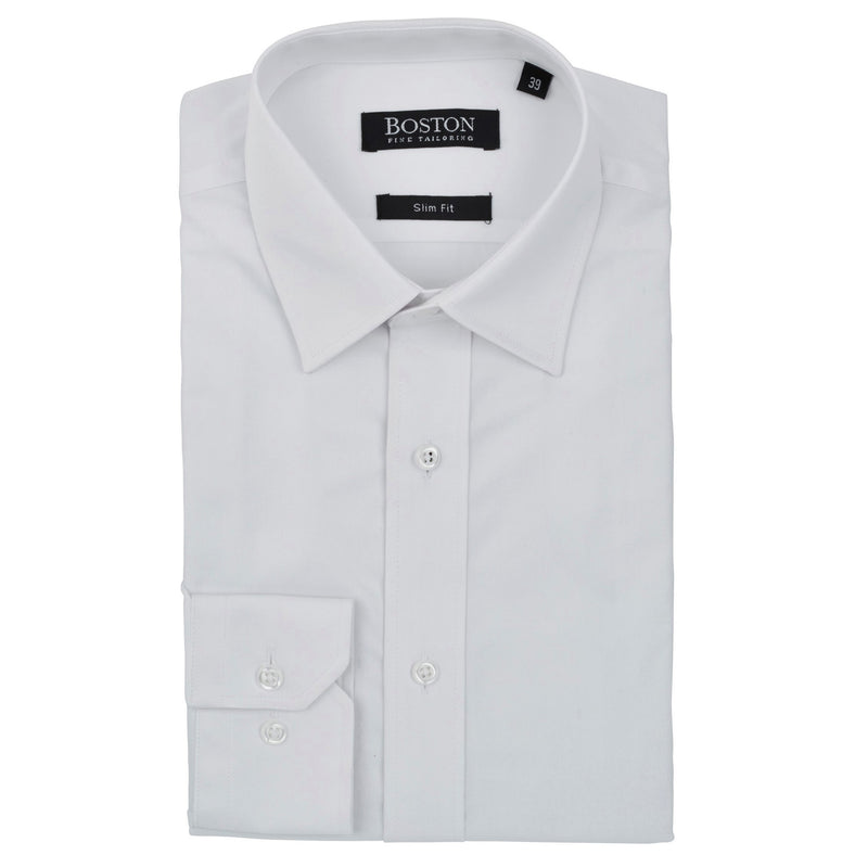 Boston Plain White Shirt SC - Ignition For Men