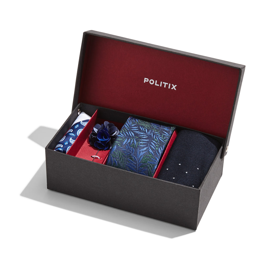 Politix Accessories Gift Box Blue XA41B