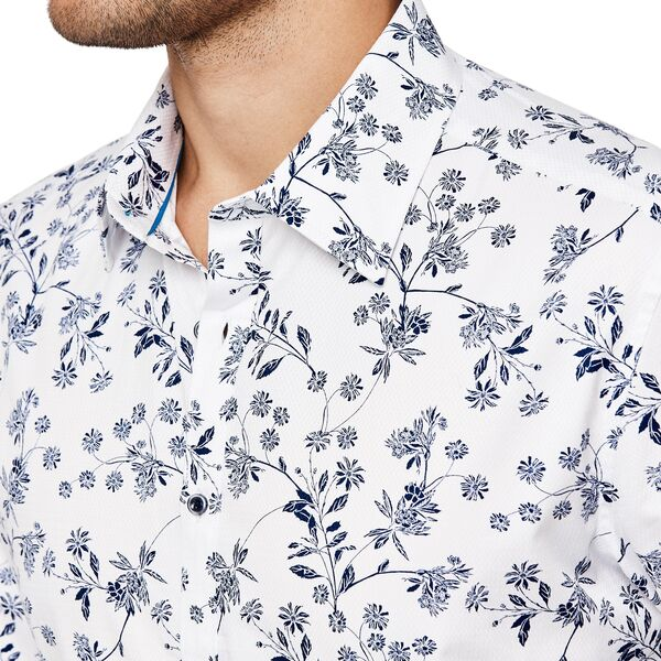 Politix Fazio Shirt XS32 White / Blue