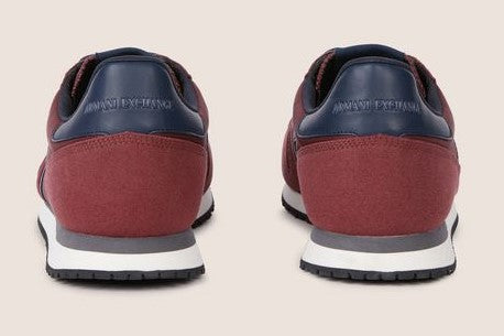 Armani Exchange Sneakers XUX017-XV028 Bordo