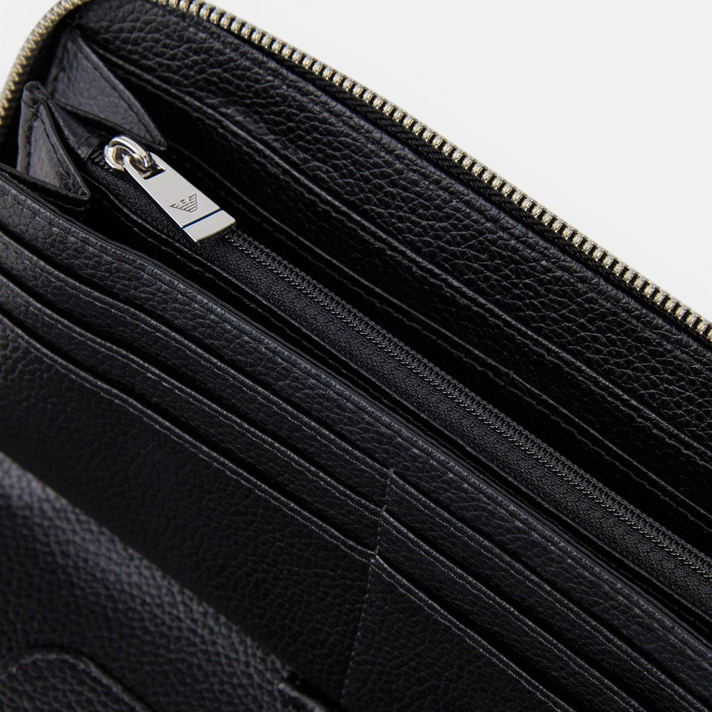 Emporio Armani Full Zip Wallet - Ignition For Men