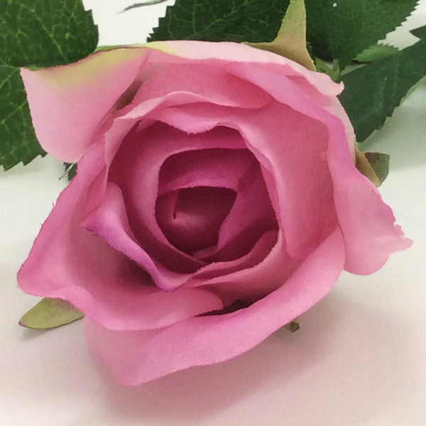 Real Touch Open Rose Bud Blue Moon GL12721
