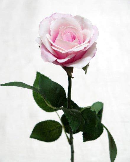 Pink Real Touch Rose Open Bloom GL12759