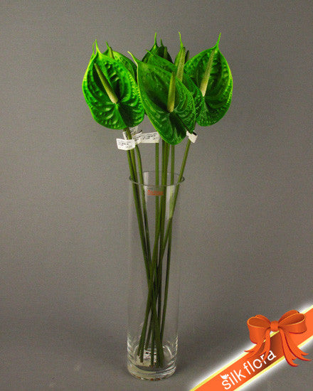 Real touch Anthurium Green GL12290