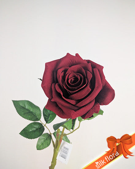 Single Flannel Rose HF4432-RD