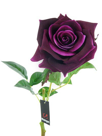 Single Flannel Rose HF4432-PUR