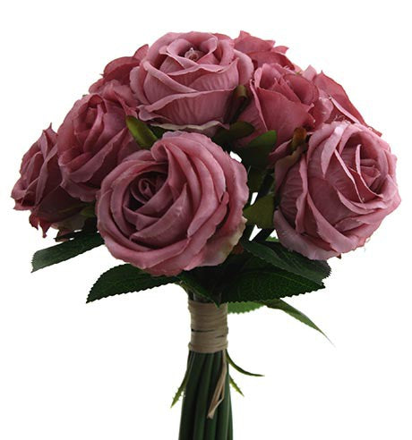 Rose Bouquet x 13 heads HF4517-MAU