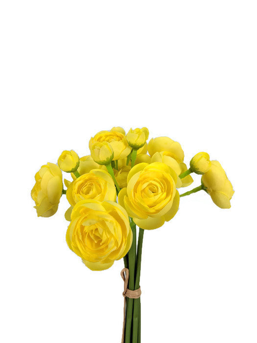 Mini Ranunculus Bunch SM056-YEL