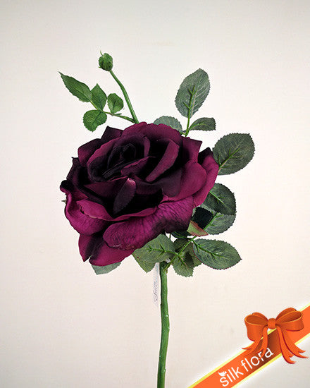 Large Open Rose S5714_PLM