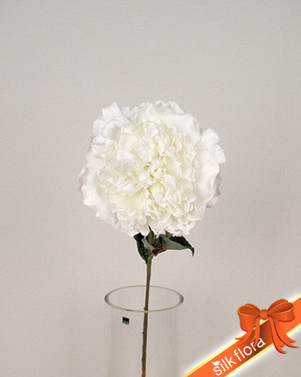 Large Open Peony S5806-WH