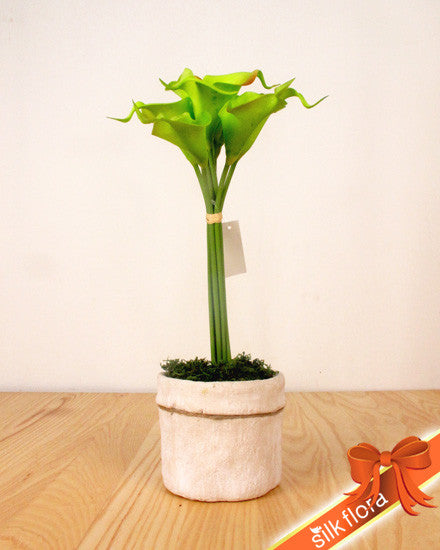 Real Touch Calla Lily Bunch MXCAL081442-RD
