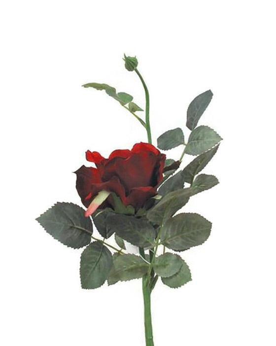 Short Rose Spray S5729-RD