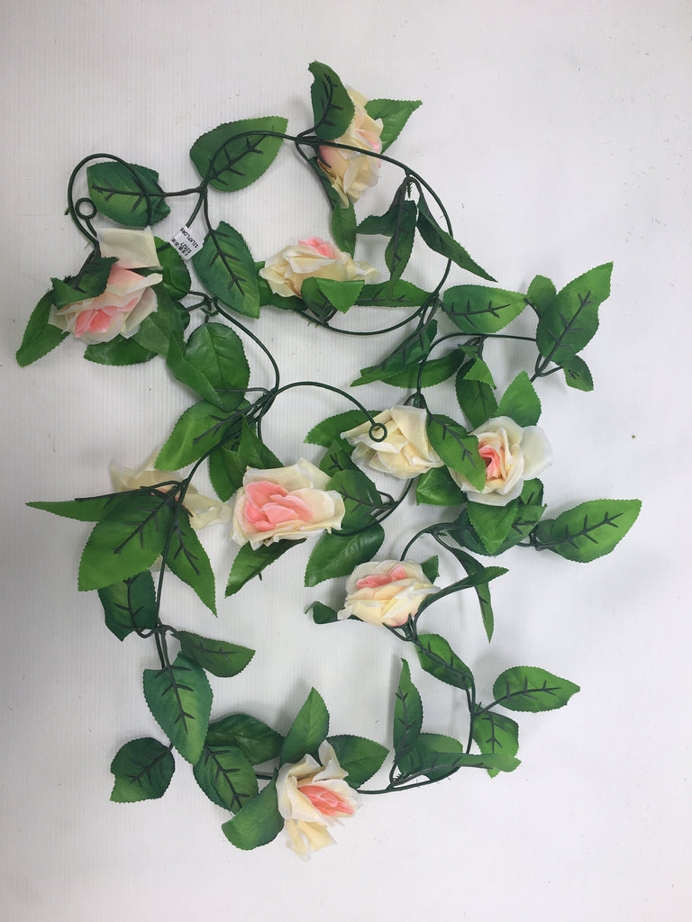 Rose garland  S3527-CHAM