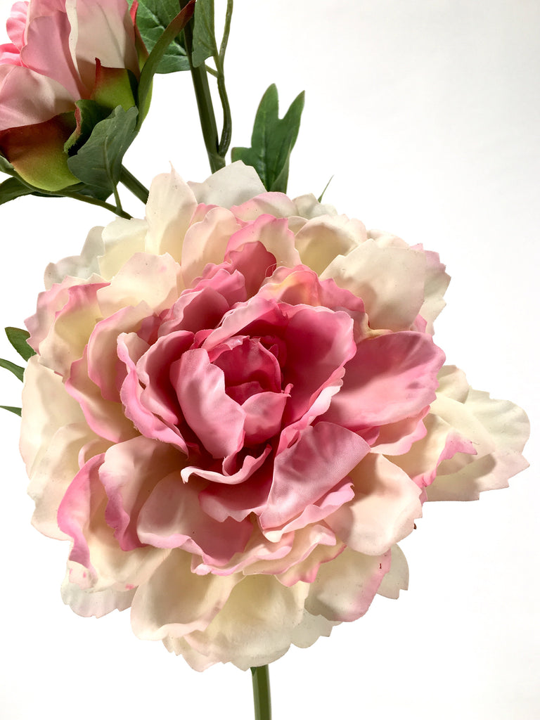 Real Touch Peony Spray FB0005-LTPNK