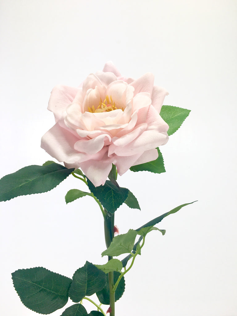 Single Real Touch Garden Rose FB0077-LPNK