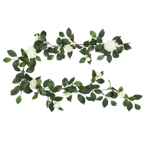 6FT CAMELLIA GARLAND S2618GRN