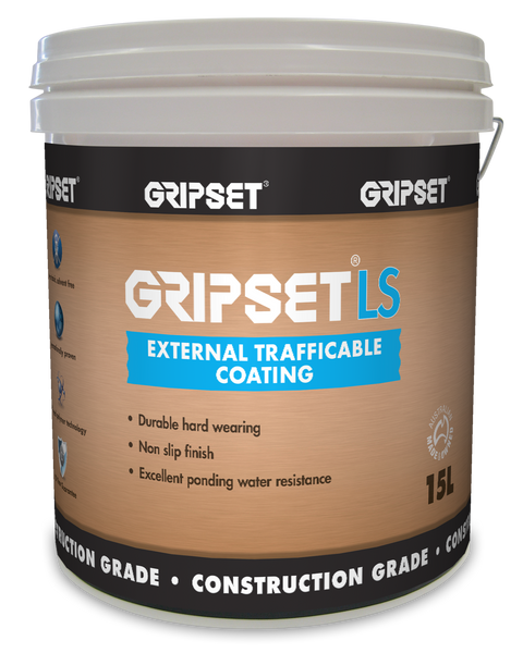 Gripset LS  External Trafficable Coating 15Litre