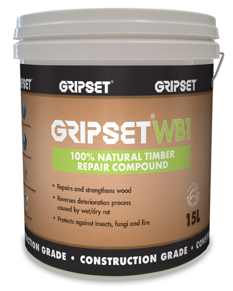 Gripset WB1 100% Natural Repair Compound 15Litre