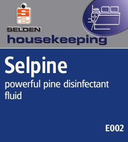 Selden Selpine, Disinfectant, 5 Litres x 2