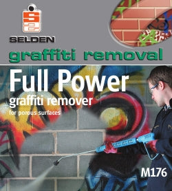 Selden Graffiti Remover, Full Power, 5 Litres x 2