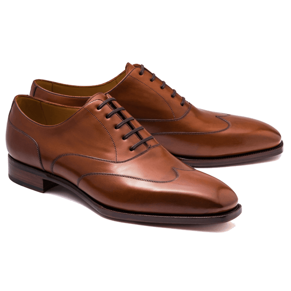 Artista Austerity Wingtip Oxford in Vegano Cuero
